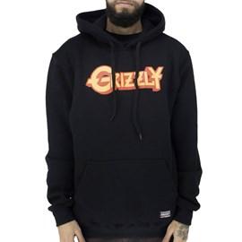 Moletom Grizzly Grizzfest Hoodie Black I20GRG15