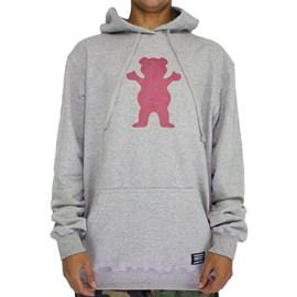 Moletom Grizzly Og Bear Pullover Grey GMB1908P04