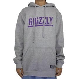 Moletom Grizzly Stamped Hoodie Grey I20GRG14