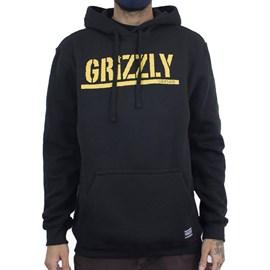 Moletom Grizzly Stamped Hoodie I20grg14 Black
