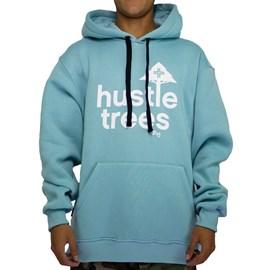 Moletom Lrg Canguru Hustle Blue