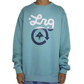 Moletom Lrg Careca Clycle logo Blue