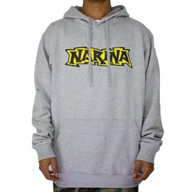Moletom Narina Logo Classico Cinza