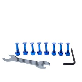 Parafuso de Base Chaze Color Azul Importado
