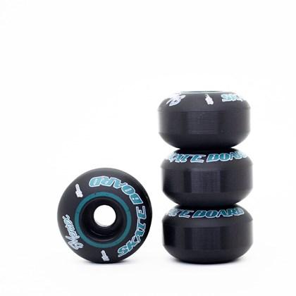 Roda Mentex Skate Basic 53mm Preta