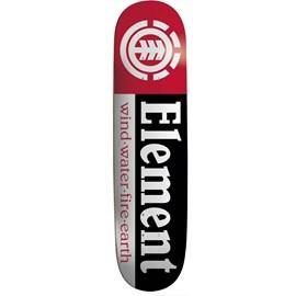 Shape Element Maple  Section 8.0 Preto Vermelho