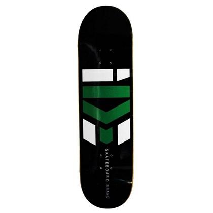 Shape Marfim Ide Skateboard logo Preto 8.0
