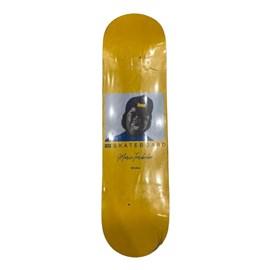 Shape Marfim Ide Skateboard Tarobinha Amarelo 8.25