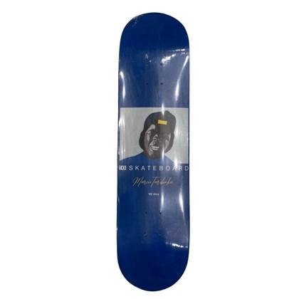 Shape Marfim Ide Skateboard Tarobinha Azul 8.0