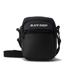 Sholderbag Black Sheep Preta Couro