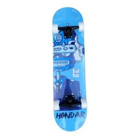 Skate Hondar Iniciante Maple kuso Robot Azul