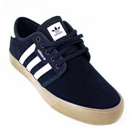 Tênis Adidas Seeley Preto Caramelo Ee6136