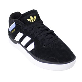 Tênis Adidas Tyshawn Black White Blue