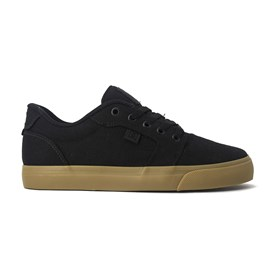 Tenis Dc Anvil Tx Black Black Gum