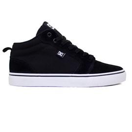 Tênis Dc Shoes Anvil La Mid Black White