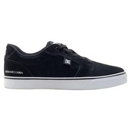 Tênis Dc Shoes Anvil La Se Black White