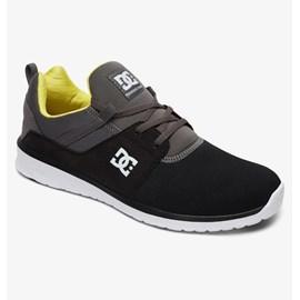 Tênis Dc Shoes Heathrow Black Battleship Lime Adys700071