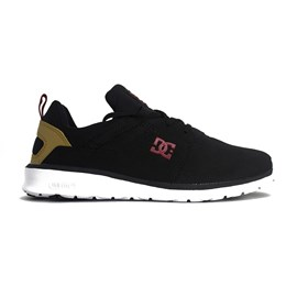 Tenis Dc Shoes Heathrow Black Camel