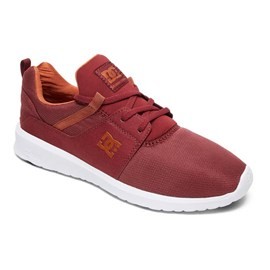Tênis Dc Shoes Heathrow Maroon Adys700071