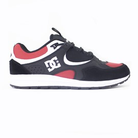 Tenis Dc Shoes Kalis Lite Imp Black Athletic Red White