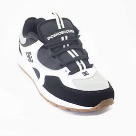 Tenis Dc Shoes Kalis Lite Imp Black Grey White