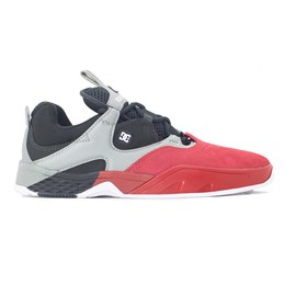 Tenis Dc Shoes Kalis S Imp Red Black Grey