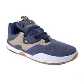 Tênis Dc Shoes Kalis S Se Imp Grey Dark Navy