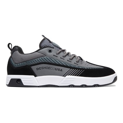 Tenis Dc Shoes Legacy 98 Slim Black Grey Grey
