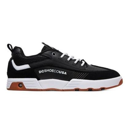 Tênis Dc Shoes Legacy 98 Slim Black White ADYS100445BKW