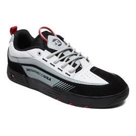 Tenis Dc Shoes Legacy 98 Slim Blk Wt Red