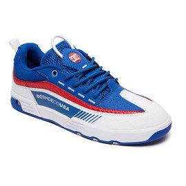 Tênis Dc Shoes Legacy 98 Slim Blue Red White
