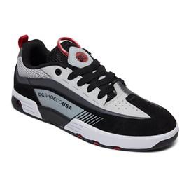 Tênis Dc Shoes Legacy 98 Slim Imp Black Grey Red Adys100445xksr