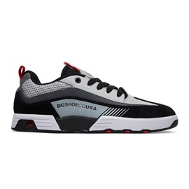 Tênis Dc Shoes Legacy 98 Slim Imp Black Grey Red Adys100445xksr