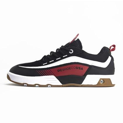 Tenis Dc Shoes Legacy 98 Slim Imp Black Red White
