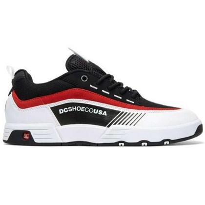 Tênis Dc Shoes Legacy 98 Slim Imp Black White Red ADYS100445XKWR
