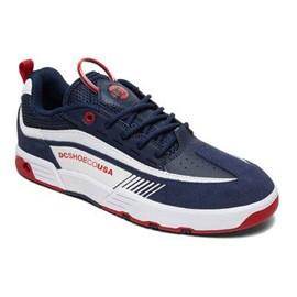 Tênis Dc Shoes Legacy 98 Slim Navy Red