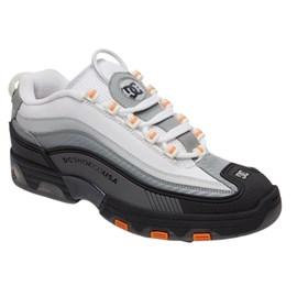 Tênis Dc Shoes Legacy Og Imp Black DK Grey White Red ADYS100476BDW