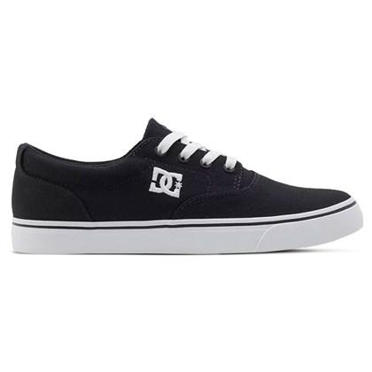 Tênis Dc Shoes New Flash 2 Tx Black White ADJS300194BKW