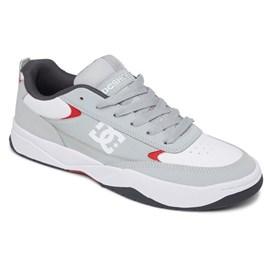 Tênis Dc Shoes Penza Grey Red White ADYS100509XSRW