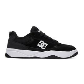 Tênis Dc Shoes Penza Imp Black White ADYS100509BKW
