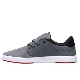 Tênis Dc Shoes Plaza Tc Grey Grey Red ADYS100401LXSSR