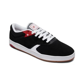 Tenis Dc Shoes Tiago S Imp Black White Red