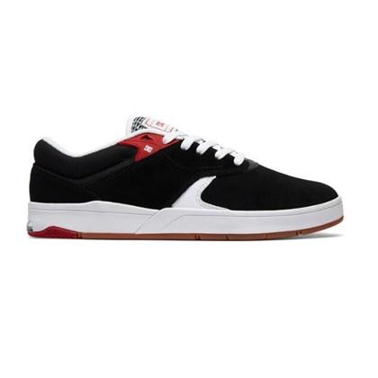 Tenis Dc Shoes Tiago S Imp Black White Red
