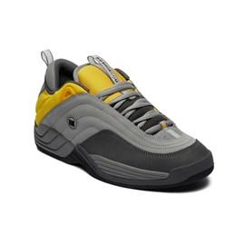 Tênis Dc Shoes Williams Og Imp Grey Yellow Adys100454