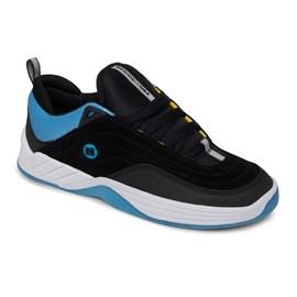 Tênis Dc Shoes Williams Slim Imp Black Black Blue ADYS100573XKKB