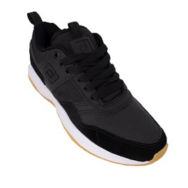 Tenis Freeday  Brooklyn Preto Branco