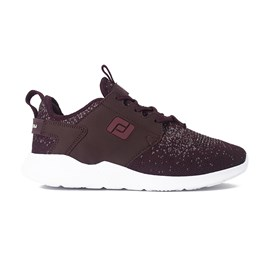 Tenis Freeday Snake Bordo Branco