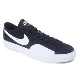 Tênis Nike Sb Blazer Court Black White