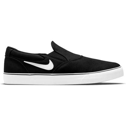 Tênis Nike Sb Chron 2 Slip Black White