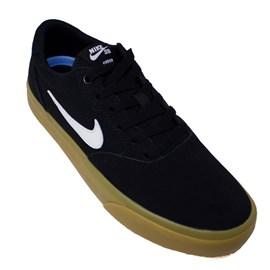 Tênis Nike Sb Chron Slr Black White
